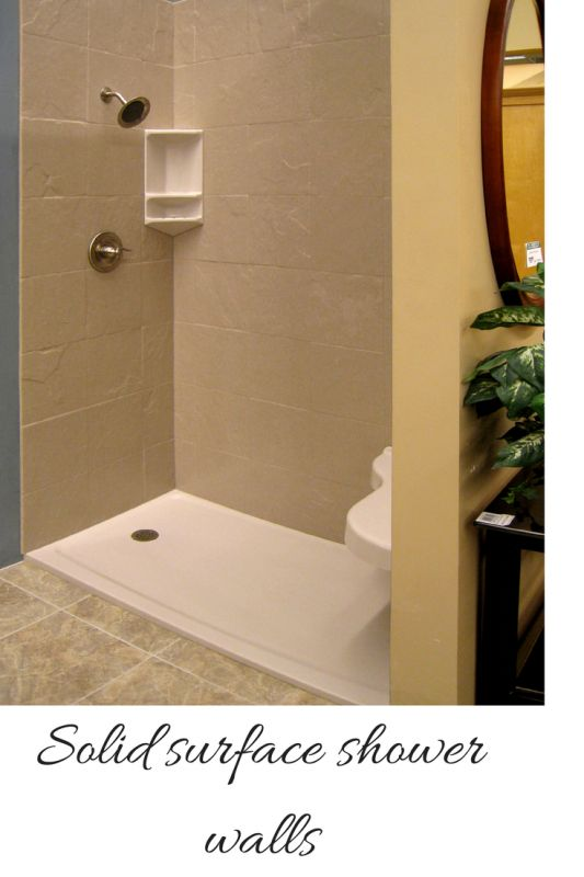 how to compare grout free shower and tub wall panels. Black Bedroom Furniture Sets. Home Design Ideas