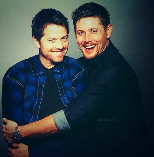 Misha Collins Jensen Ackles Destiel | Super-Who-Lock-Ibal ...
