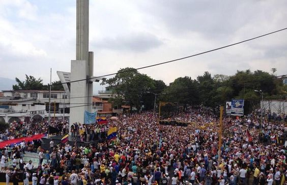 FOTO. Esto se vivió esta mañana en SC #Táchira #Venezuela #2M #SúmateALaGuarimba (Foto @JuanC_Ramirez) pic.twitter.com/wPWncolNy0