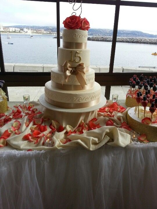 Coral, gold and ivory cake and mac make up cakepops ...