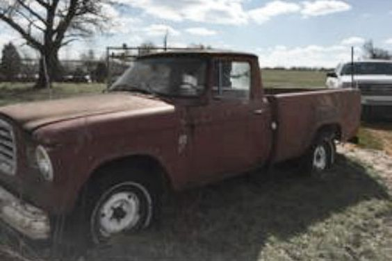 Behind The Barn Find: 1963 Studebaker Truck - http://barnfinds.com/behind-the-barn-find-1963-studebaker-truck/