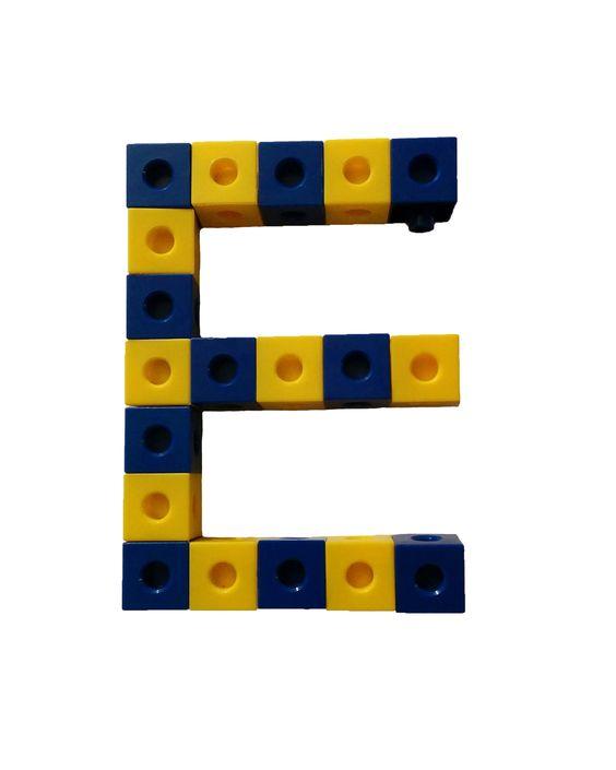 Link Blokken Letter R  Link Blokken