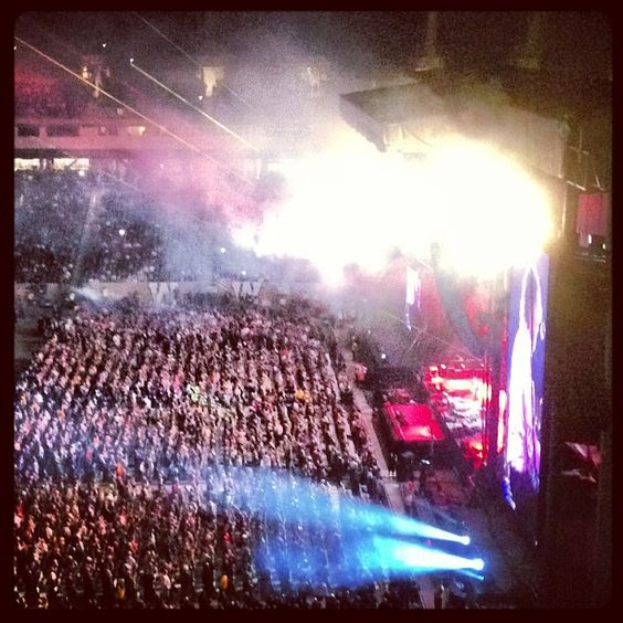 Paul literally lit the place on fire! Still can't believe I saw him perform! Dreams come true kids! #paulmccartney #wings #liveandletdie #concert #winnipeg #manitoba #beatles #fireworks #sirpaul #music #crowd #fans (15 Likes)