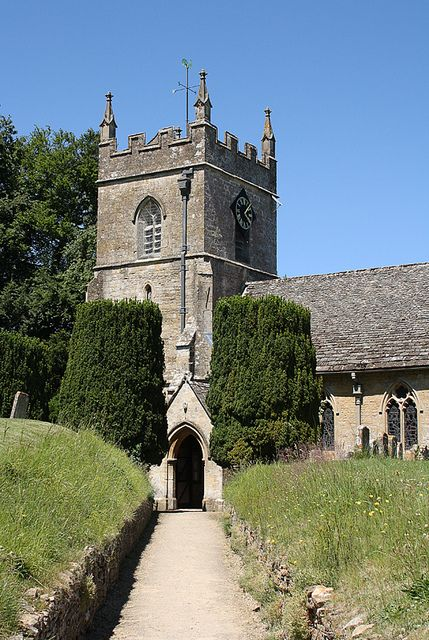 St Peters, Upper Slaughter, Gloucestershire, England