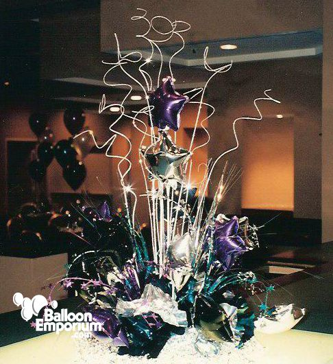 Sweet centerpieces and balloons on pinterest
