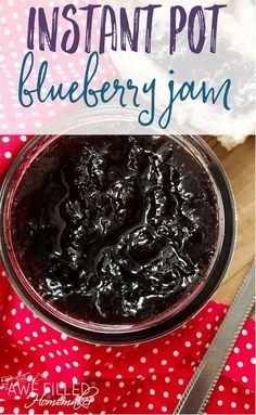 Instant Pot Blueberry Jam