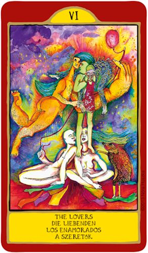 Gypsy Palace Tarot - The Lovers