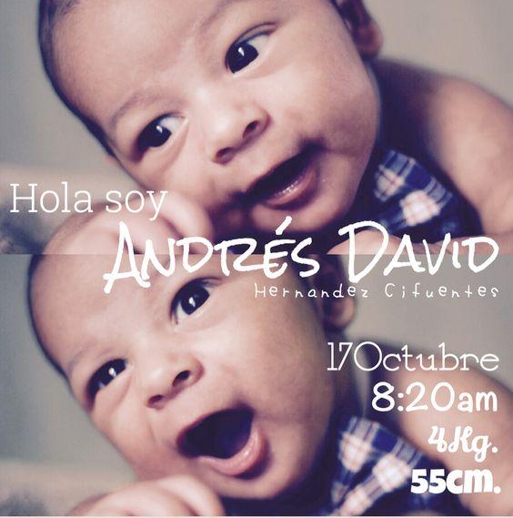 Una idea genial para presentar a tu bebé #Photography #BabyPhotography