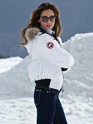 Canada Goose jackets outlet price - bogner ski jacket with fur hood   Glam Ski   Pinterest   Ski ...
