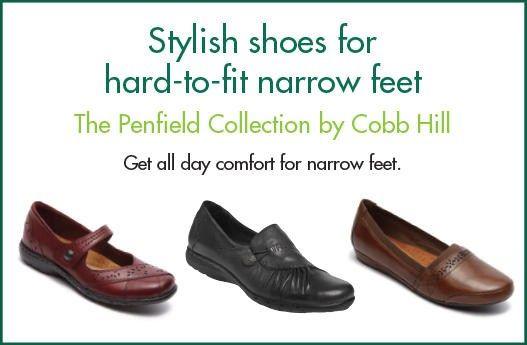fit NARROW Feet? Cobb Hill Shoes