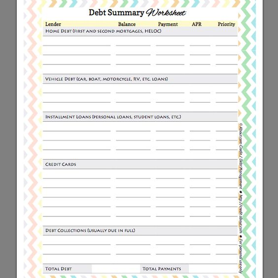 Worksheets Get Out Of Debt Budget Worksheet get out of debt budget worksheet imperialdesignstudio free summary for organizing and prioritizing your debts