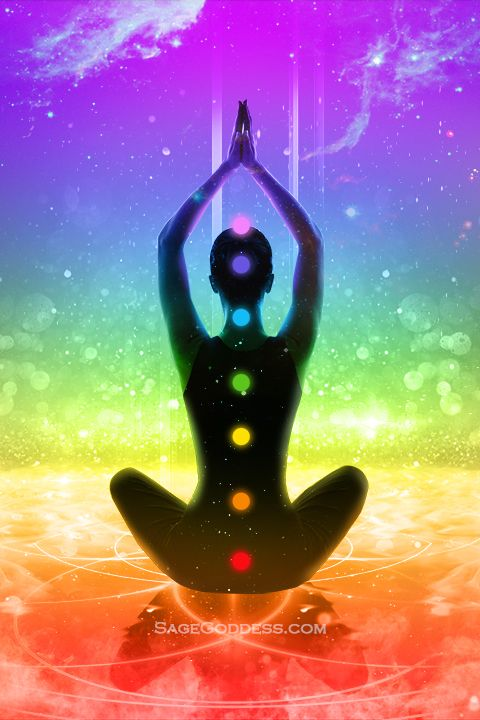 Free Custom Sage Goddess Downloadable Chakra Wallpaper Sage Goddess Chakra Meditation Celestial Art Yoga Inspiration