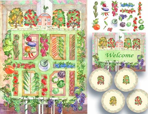 home ideas for vegetable garden design drawing