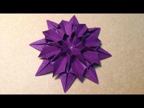 クリスマス 折り紙 簡単な折り紙 花 : jp.pinterest.com