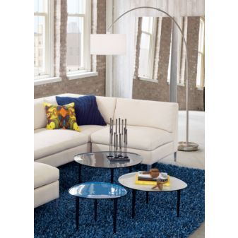 for living room? $200 at cb2. we still have CB gift cards from our wedding... perfect for this!