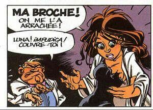 Spirou et les femmes : Luna Fatale