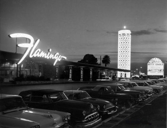 Visiting Las Vegas - The Flamingo Hotel  Early 1960s (Opened 1946)