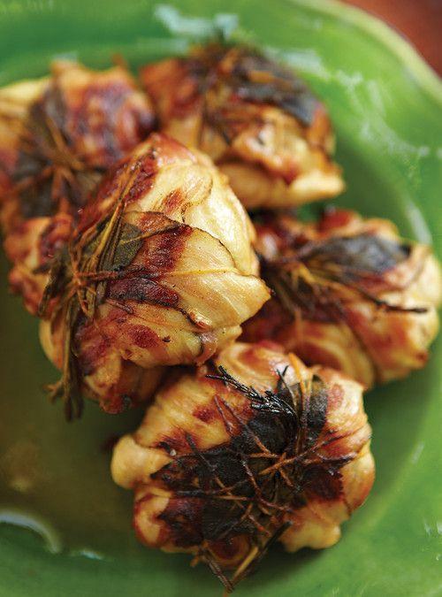 Paupiettes de poulet aux tomates séchées et au parmesan Recettes | Ricardo