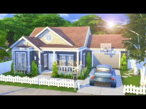 Simple Family Home The Sims 4 Speed Build Youtube Sims 4 House Design Sims 4 Houses Sims 4 Family House