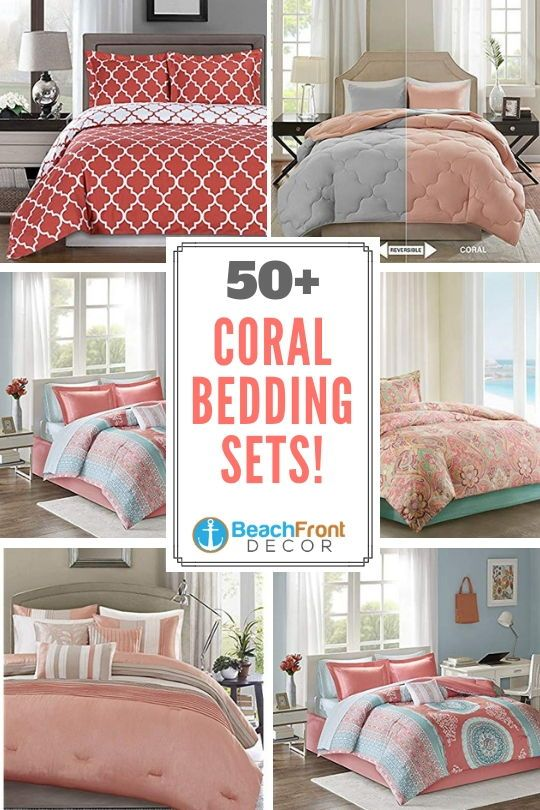 50 Coral Bedding Sets Discover The Best Coral Bedding Sets Coral Comforters And Coral Duvet Covers For Coral Bedding Coral Bedding Sets Coral Crib Bedding