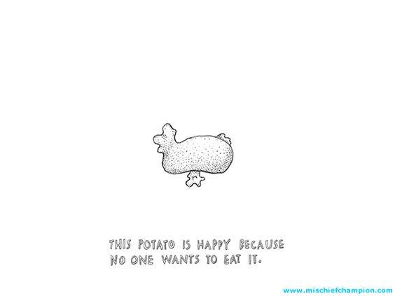 The Happiness | Mischief Champion - Comics by Katrin Hagen
