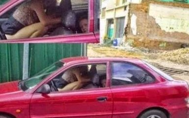 Couple Having Sex In The Car 40