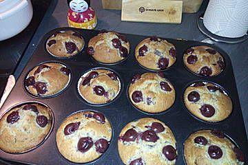 Kirschmuffins (Rezept mit Bild) von mp3-palyer | Chefkoch.de