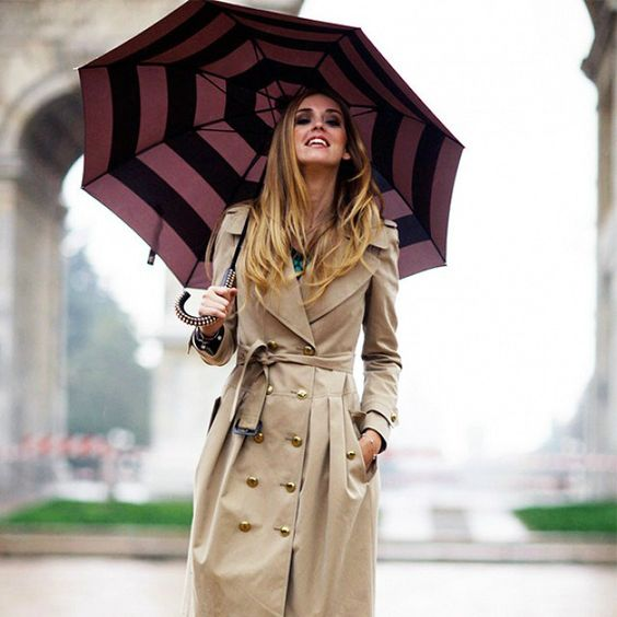 Como ficar chique em dias de chuva - Moda it