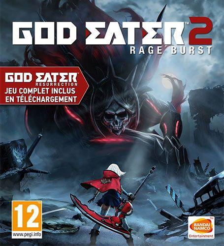 Défiez les Dieux : God Eater 2 Rage Burst est disponible - Bandai Namco…