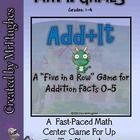 Looking for a fun and interactive way to get your students to practice their basic addition facts?