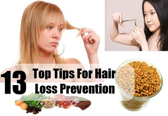 13 Top Tips For Hair Loss Prevention