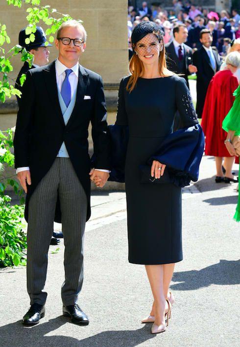 Here Are All The Celebrities Who Attended The Royal Wedding Konigliche Hochzeitskleider Konigliche Hochzeit Sarah Rafferty