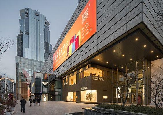 Kohn Pedersen Fox Associates Projects Jing An Kerry Centre Kpf Architecture Architecture Mall Facade