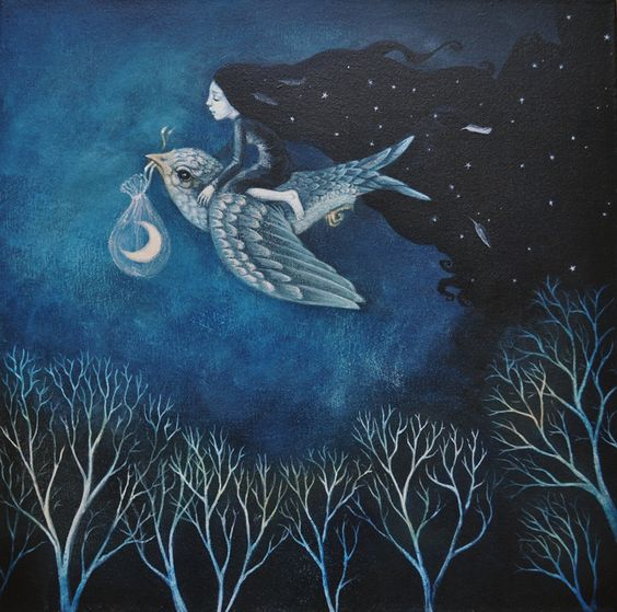 bringing in the night by lucy campbell: