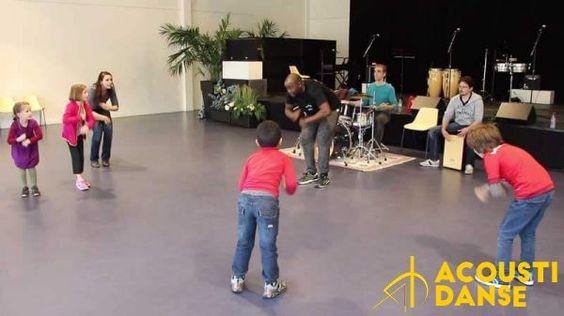 L'atelier Hip-Hop pour les enfants (et les parents) avec Alexis Sadefo (danse) et François Pouzet (Musique) le samedi matin. http://acoustidanse.com