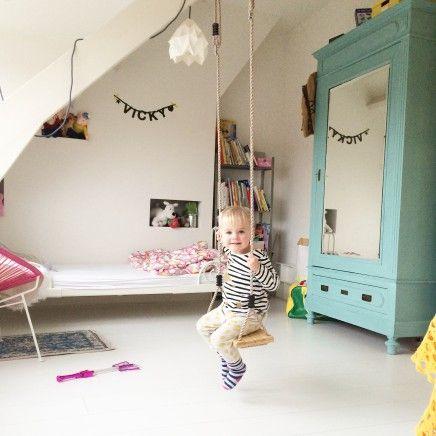 Meer dan 1000 idee n over peuter meisje kamers op pinterest meisjeskamers peuterkamers en - Roze meid slaapkamer ...