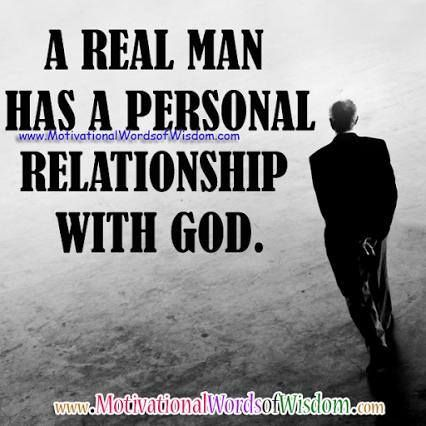to be in relationship with god