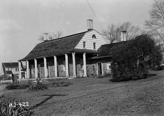 Benjamin P. Westervelt House in Bergen County, New Jersey.