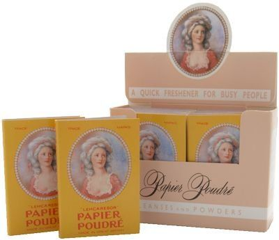 Papier Poudre Oil Blotting Papers - Rose 1 Box (12 Booklets) I remember this! do you @Noelle Noreen Juarez