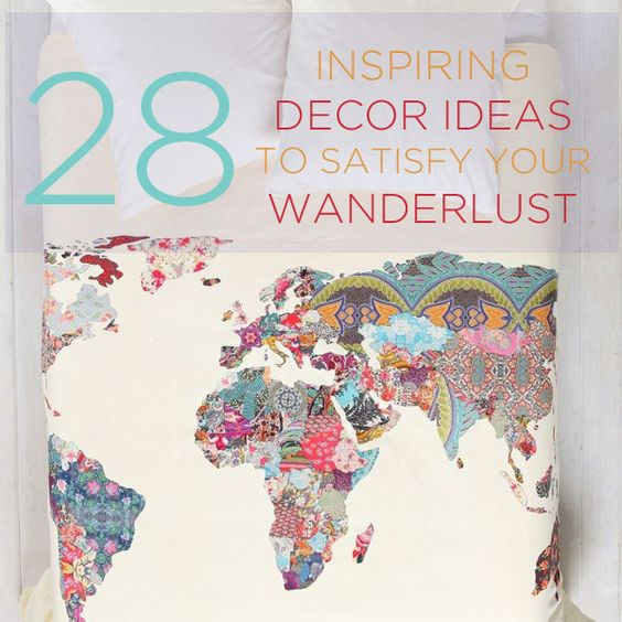 28 Inspiring Decor Ideas To Satisfy Your Wanderlust