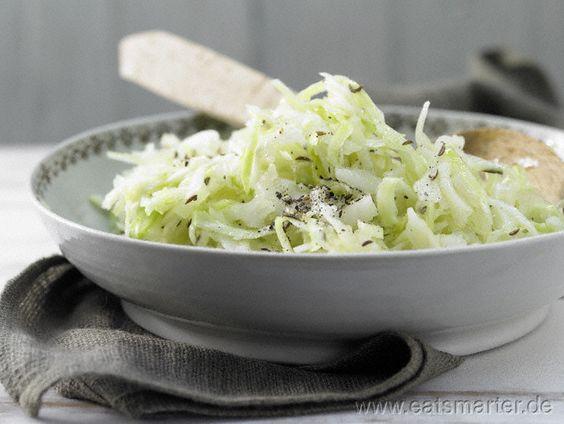 Weißkrautsalat – smarter mit Kümmel - smarter - Kalorien: 87 Kcal | Zeit: 70 min.