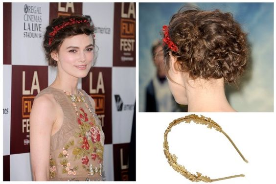 The Eye-Catching Headband - 5 Totally Fresh Holiday Hairstyles