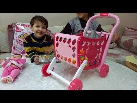 ألعاب أطفال عربة السوبر ماركت الجديدة للبنات والاولاد افضل العاب التسوق للاطفال Youtube Toddler Bed Toys Decor
