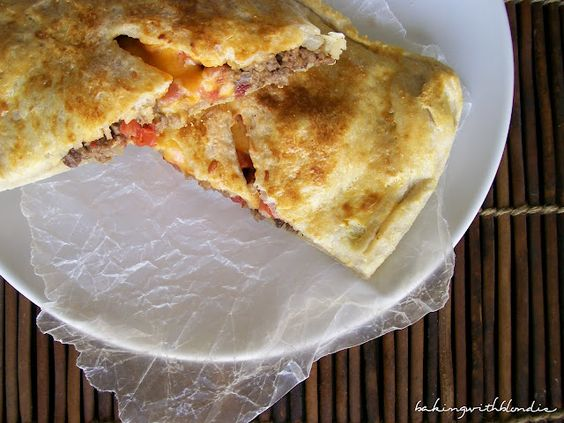Bacon Cheeseburger Calzones. Food for your man, thank me later.