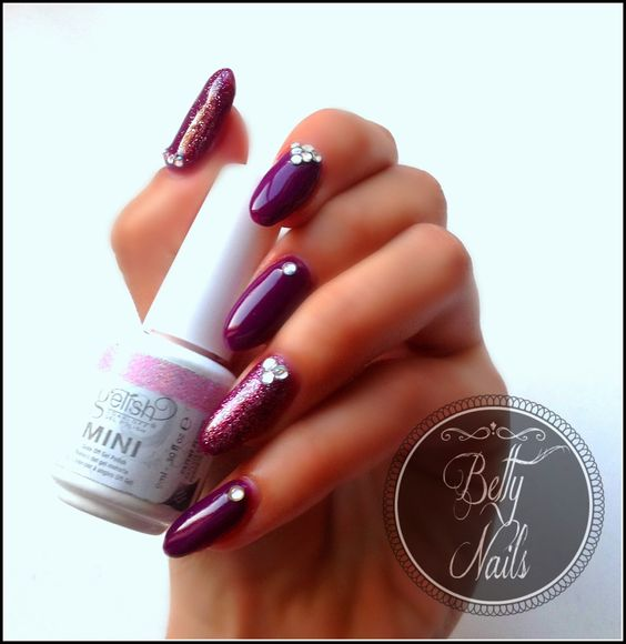 Betty Nails: Mollon Pro Monophase 24 Amber & Nailart