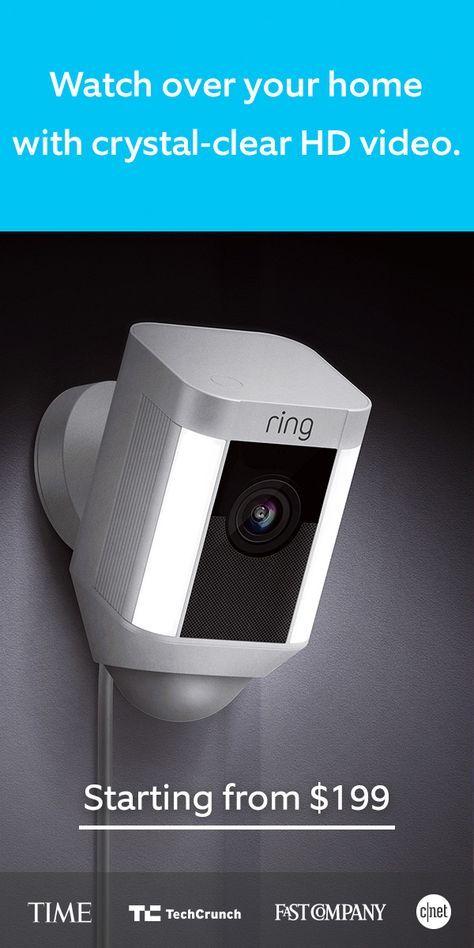Spotlight Cam Wired Security Cameras For Home Home Security Tips Diy Home Security