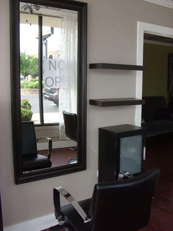 Geneva the mirror and shelving on pinterest - Salon ikea ideas ...