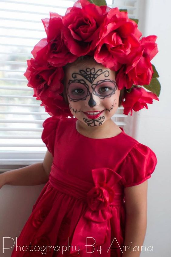 Toddler photo shoots, Toddler photos and Skull makeup on ...