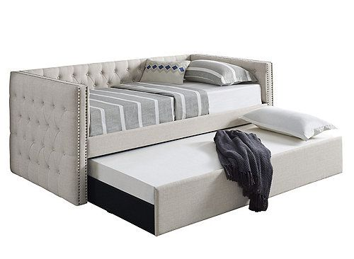 Trina Daybed W Trundle Furniture Discount Bedroom Furniture