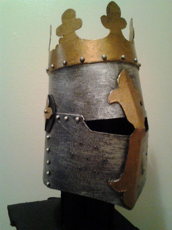 cardboard armour template - cardboard helmet helmets pinterest knight the o